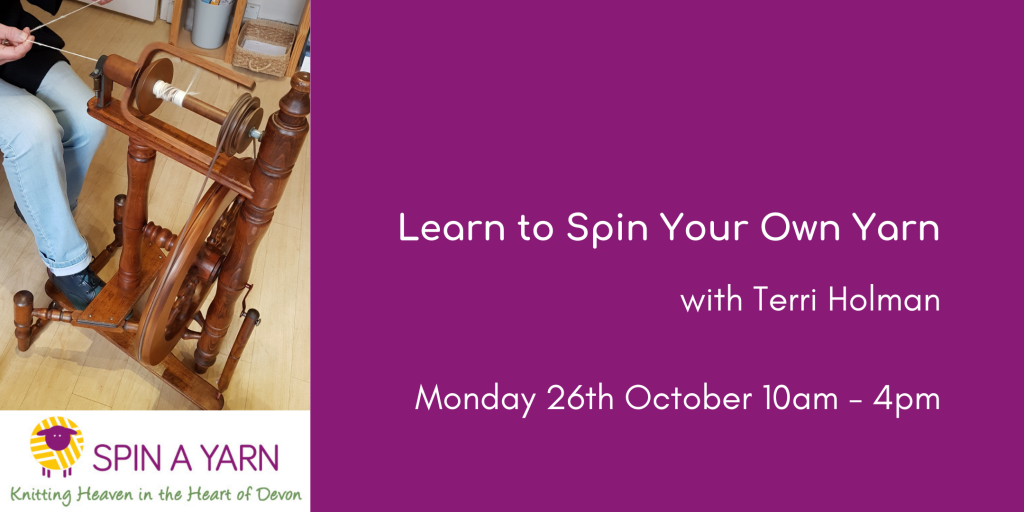 Spinning with Terri Holman, 26th October