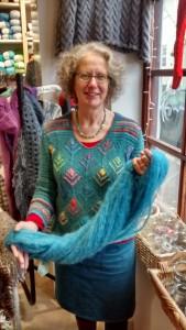 Patsy - Staff at Spin A Yarn