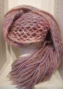 Touch Brushed Lace Scarf - Free Pattern
