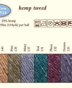 Hemp Tweed Shadecard