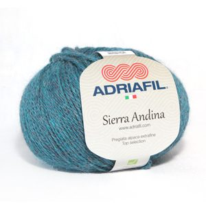 A ball of Adriafil Sierra Andina yarn