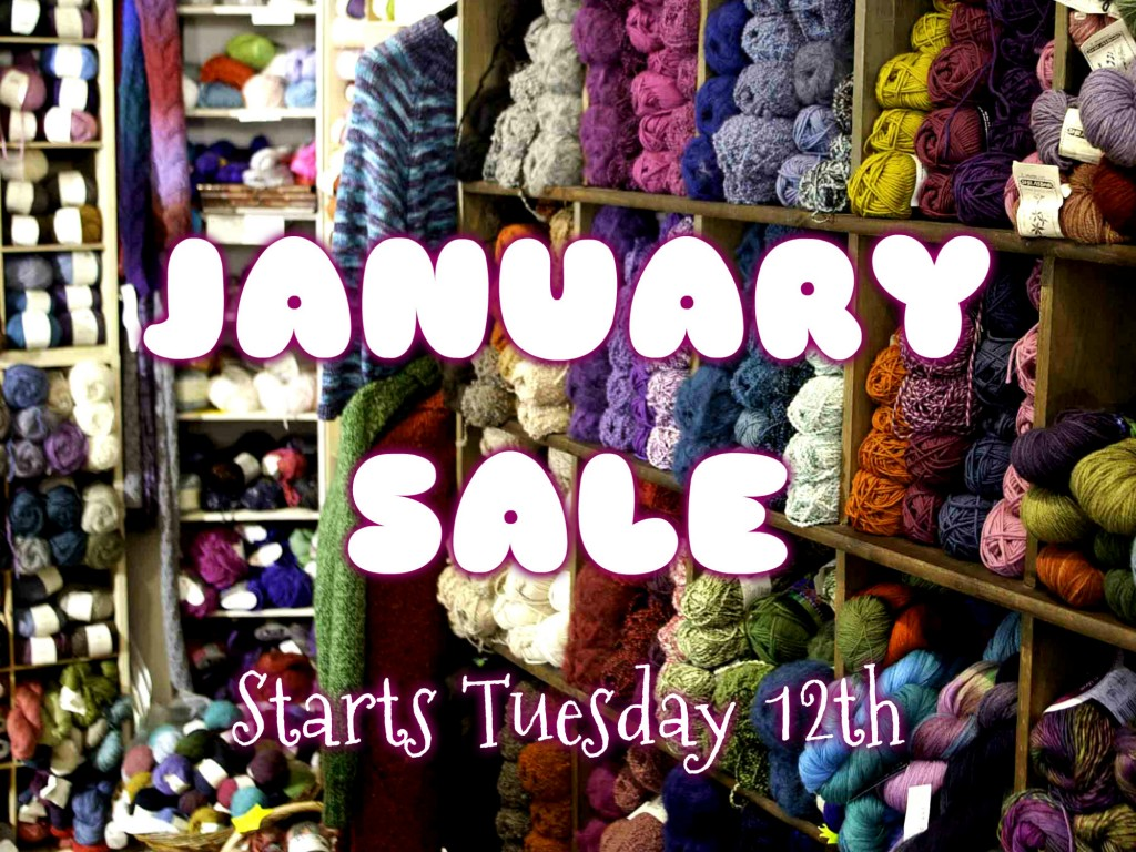 January Sale Starts 12th Jan