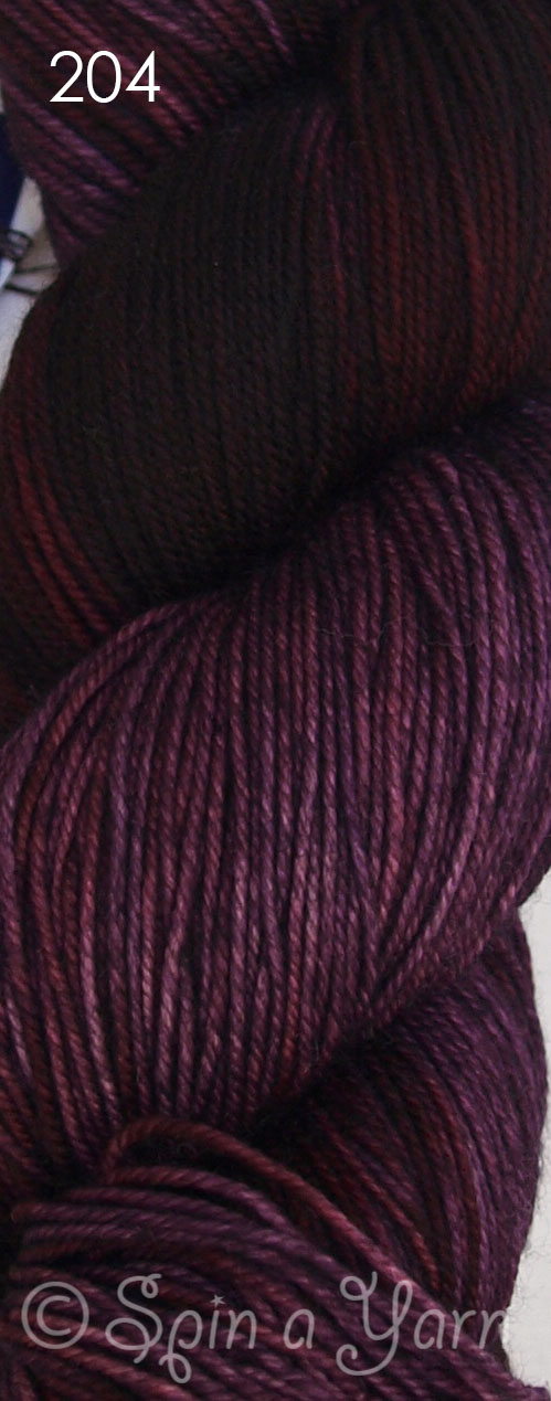 Malabrigo Sock Velvet Grapes 204