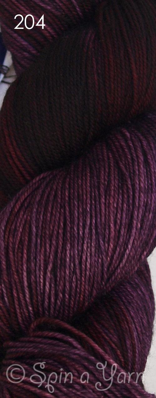 Malabrigo Sock Velvet Grapes 204