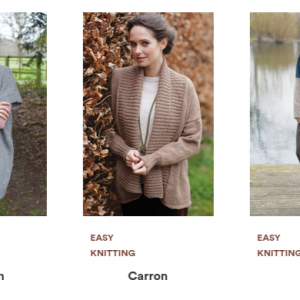 Rowan Cashmere Tweed Pattern Selection