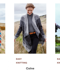 Rowan Valley Tweed Pattern Selection