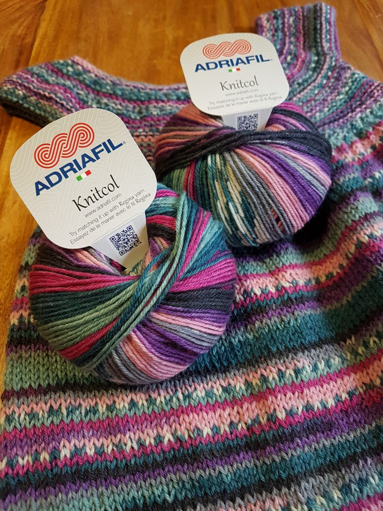 Adriafil KnitCol with dress