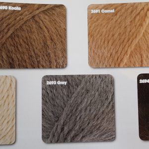 King Cole Superfine Alpaca Chunky shades