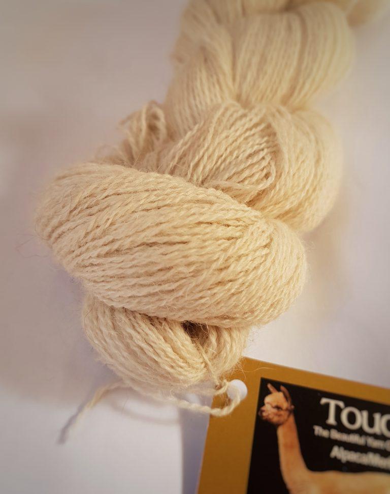 Touch Alpaca Merino Laceweight closeup