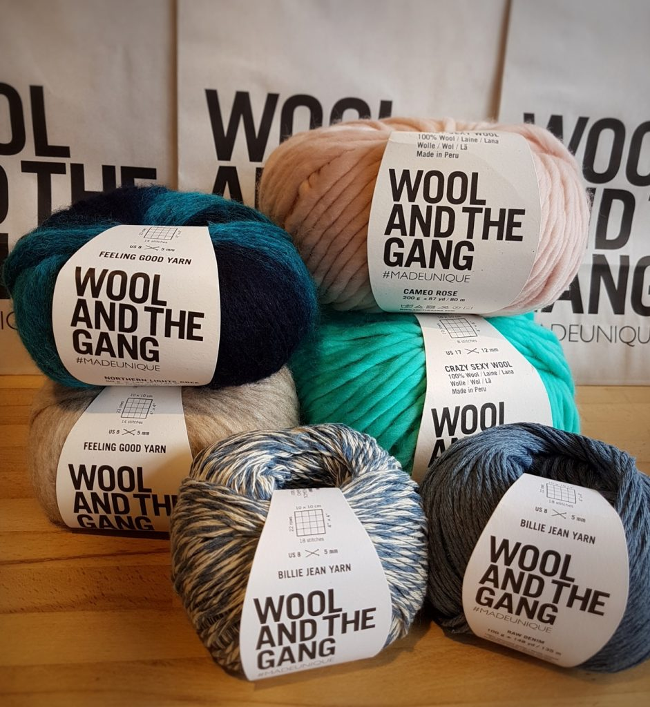 Wool and the Gang Yarns